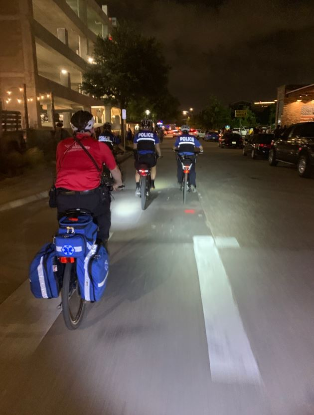 Unique Partnership between Fort Worth PD and MedStar Enhances Safety for the West 7th Entertainment District